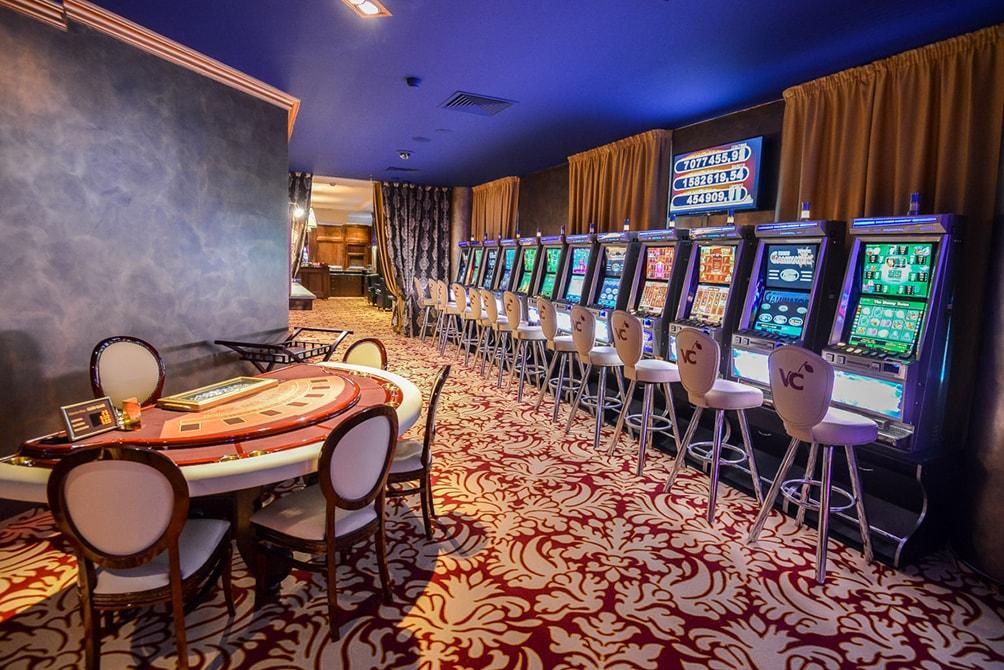 фото Зал видно казино где игральные