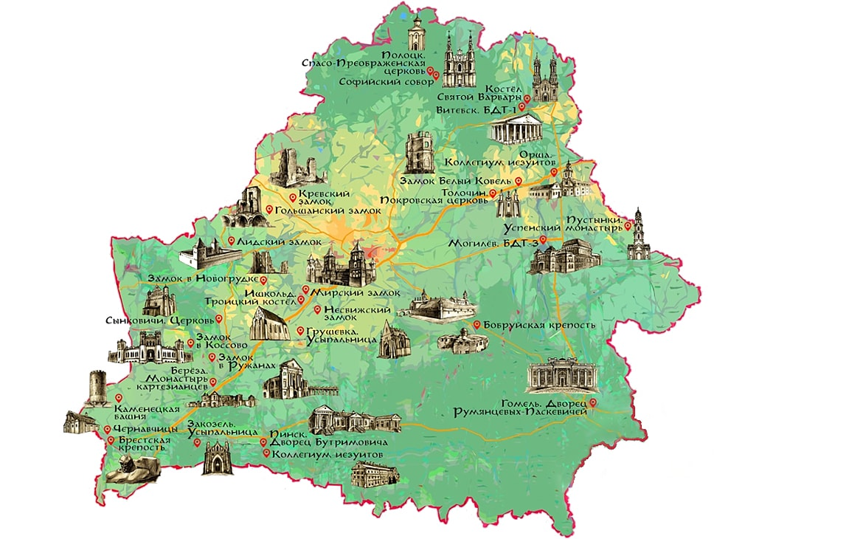 череды карта беларуси с изображением символа области фото величество коньяк