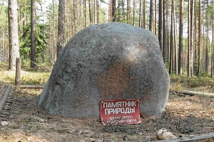 Князь-камень в д. Берёзовщина