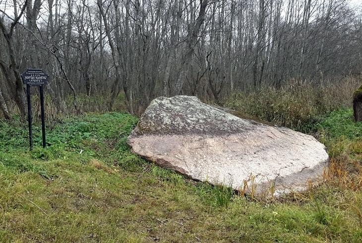Чёртов камень в д. Воронино
